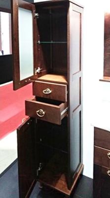 Шкаф-пенал для ванной Roca America ZRU9302795