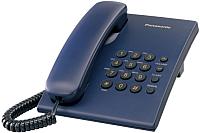 Проводной телефон Panasonic KX-TS2350CAC (синий) -