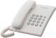 Проводной телефон Panasonic KX-TS2350CAW (белый) -