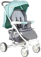 Детская прогулочная коляска Lorelli S300 Green&Grey Cities (10020841748) -