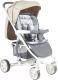 Детская прогулочная коляска Lorelli S300 Grey&Beige Cities (10020841747) -