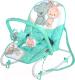 Детский шезлонг Lorelli Top Relax Green&Grey Friends (10110021704) -