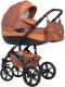 Детская универсальная коляска Riko Brano Natural 3 в 1 (06\copper) -