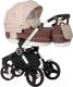 Детская универсальная коляска Riko Expero 2 в 1 (06/latte) -