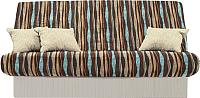 Диван-кровать Территория сна Комфорт Story Page (коричневый/синий) -