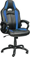 Кресло офисное Седия Apollon (черный/синий) -