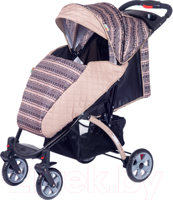Детская прогулочная коляска Babyhit Tetra (Beige)