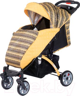 Детская прогулочная коляска Babyhit Tetra (Yellow)