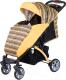 Детская прогулочная коляска Babyhit Tetra (Yellow) -