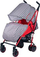 Детская прогулочная коляска Babyhit Handy (Red/Grey) -