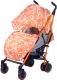 Детская прогулочная коляска Babyhit Handy (White/Orange) -