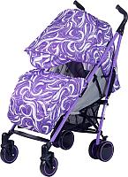 Детская прогулочная коляска Babyhit Handy (White/Violet) -