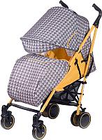 Детская прогулочная коляска Babyhit Handy (Yellow/Grey) -