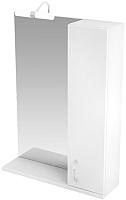 Шкаф с зеркалом для ванной Triton Джуно 60 (015.42.0600.101.03.01.R) -