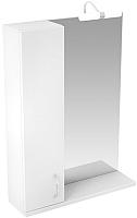 Шкаф с зеркалом для ванной Triton Джуно 80 (015.42.0800.101.03.01.L) -