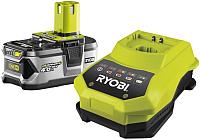 Зарядное устройство для электроинструмента Ryobi RBC 18 L40 + аккумулятор (5133001912) -
