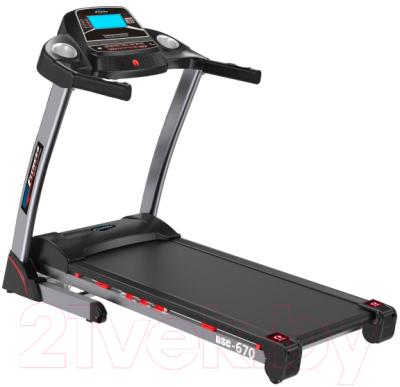 Электрическая беговая дорожка Basic Fitness T670 / BSC-670