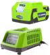 Аккумулятор для электроинструмента Greenworks 24V Lux (+ зарядное устройство) -