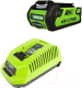 Аккумулятор для электроинструмента Greenworks 40V Base (+ зарядное устройство) -