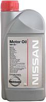 Моторное масло Nissan Motor Oil KE90099933R 5W30 (1л) -