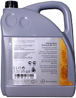 Моторное масло Mercedes PKW-Synthetic Motorenol 229.5 5W40 / A0009898301ACA4 (5л) -