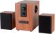 Мультимедиа акустика Dialog AP-150 (коричневый) -