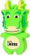 Usb flash накопитель Mirex Dragon Green 4GB (13600-KIDGDR04) -