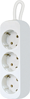 Удлинитель Defender E330 / 99222 (3м, 3 розетки, белый) -