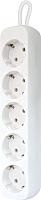 Удлинитель Defender E518 / 99229 (1.8м, 5 розеток, белый) -