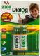 Аккумуляторы AA Dialog HR6/2300-2B (2шт) -