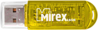 Usb flash накопитель Mirex Elf Yellow 16GB (13600-FMUYEL16)