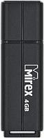 Usb flash накопитель Mirex Line Black 4GB (13600-FMULBK04) -