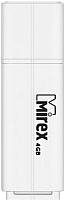 Usb flash накопитель Mirex Line White 4GB (13600-FMULWH04) -