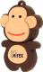 Usb flash накопитель Mirex Monkey Brown 4GB (13600-KIDMKB04) -