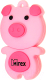 Usb flash накопитель Mirex Pig Pink 16GB (13600-KIDPIP16) -