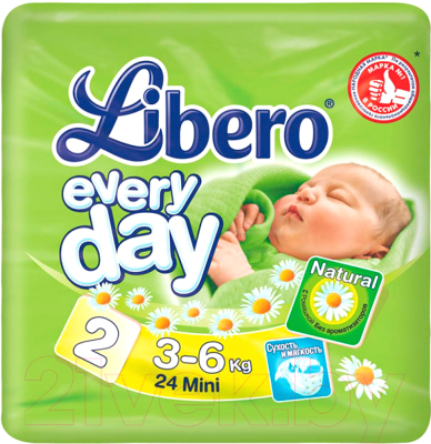 a74296cc2961 Libero Everyday Mini 2 (24шт) Подгузники купить в Минске