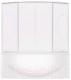 Пластиковая шторка для ванны BAS Фиеста 195x145 -