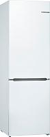 Холодильник с морозильником Bosch KGV36XW22R -