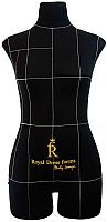 Манекен Royal Dress Forms Monica (черный, размер 48) -