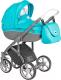 Детская универсальная коляска Roan Bass Soft 3 в 1 (Blue Hawai) -