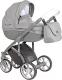 Детская универсальная коляска Roan Bass Soft 3 в 1 (Graphite Powder) -