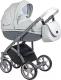 Детская универсальная коляска Roan Bass Soft 3 в 1 (Dove Grey) -