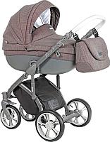 Детская универсальная коляска Roan Bass Soft 3 в 1 (Chevron Burgundy) -