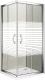 Душевое ограждение Good Door Infinity CR-100-S-CH -