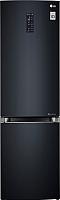 Холодильник с морозильником LG GA-B499TGLB -
