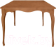 Обеденный стол Alesan Камелия 80x80 (черешня лак) -