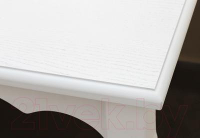 Обеденный стол Alesan Камелия 80x80 (эмаль белая)