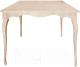 Обеденный стол Alesan Камелия 80x80 (дуб лак) -