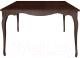 Обеденный стол Alesan Камелия 80x80 (венге лак) -