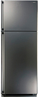 Холодильник с морозильником Sharp SJ-58C-ST -